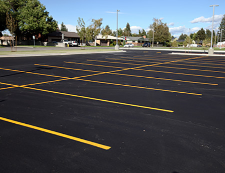 lot striping service