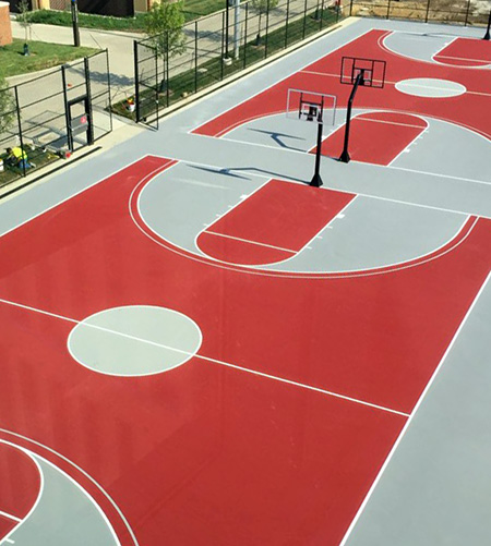 basketball court painters